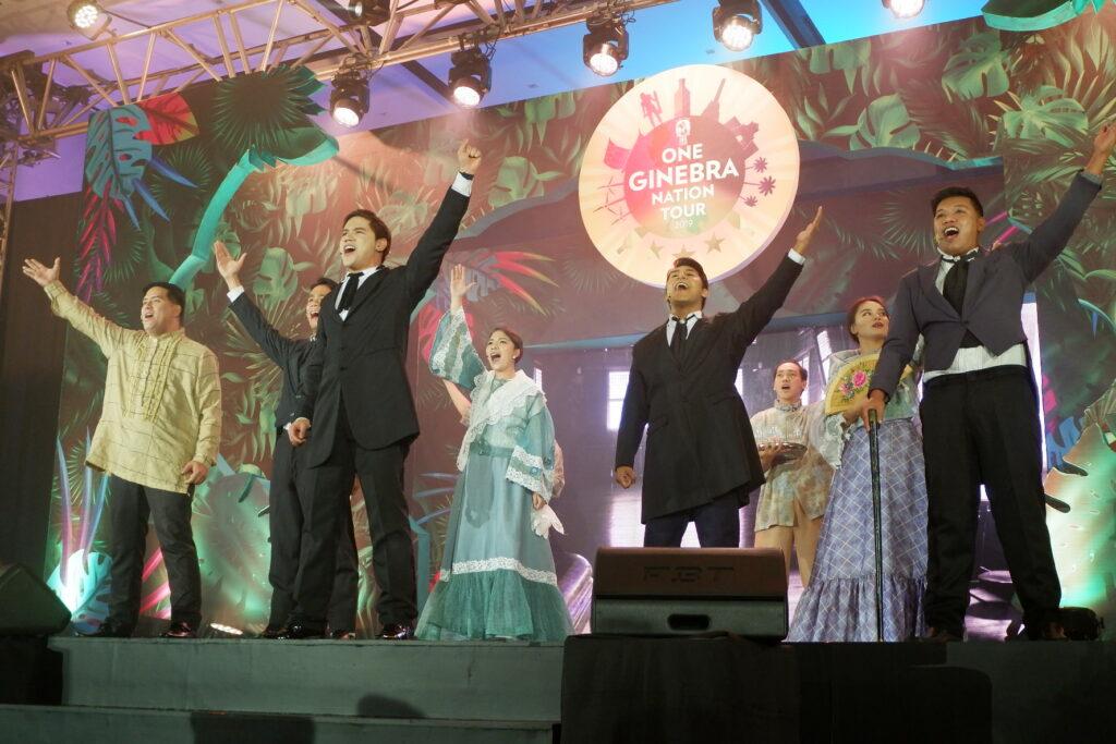 ginebra stage performance