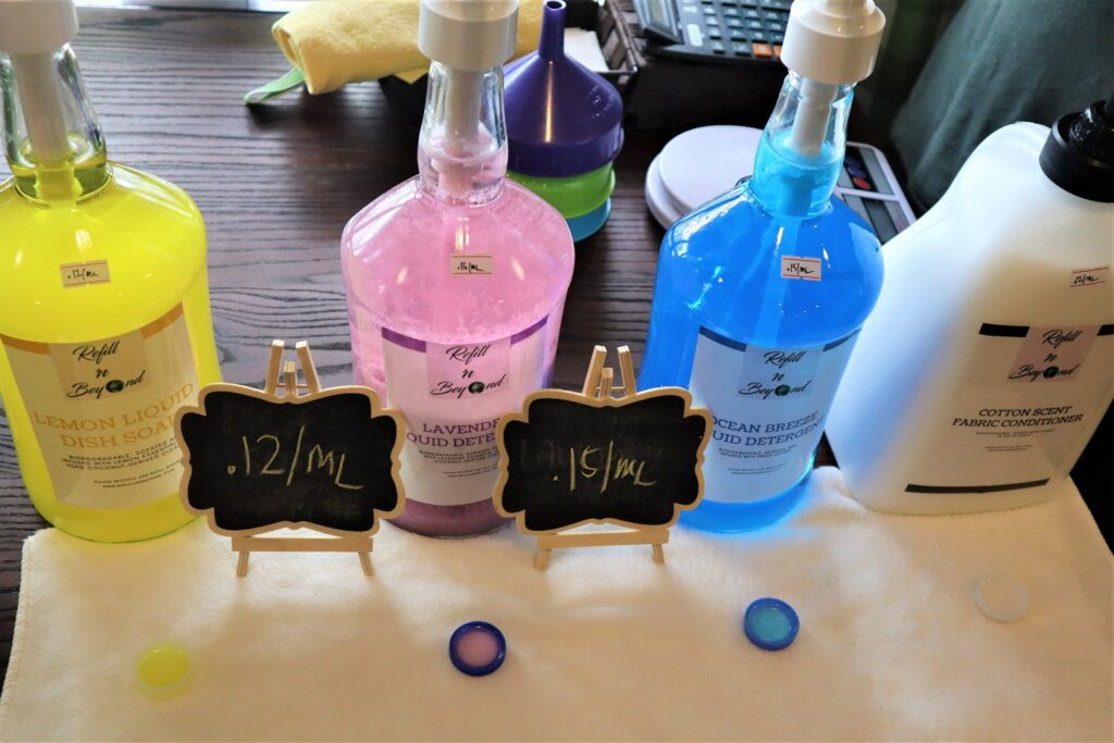 refill n beyond detergents