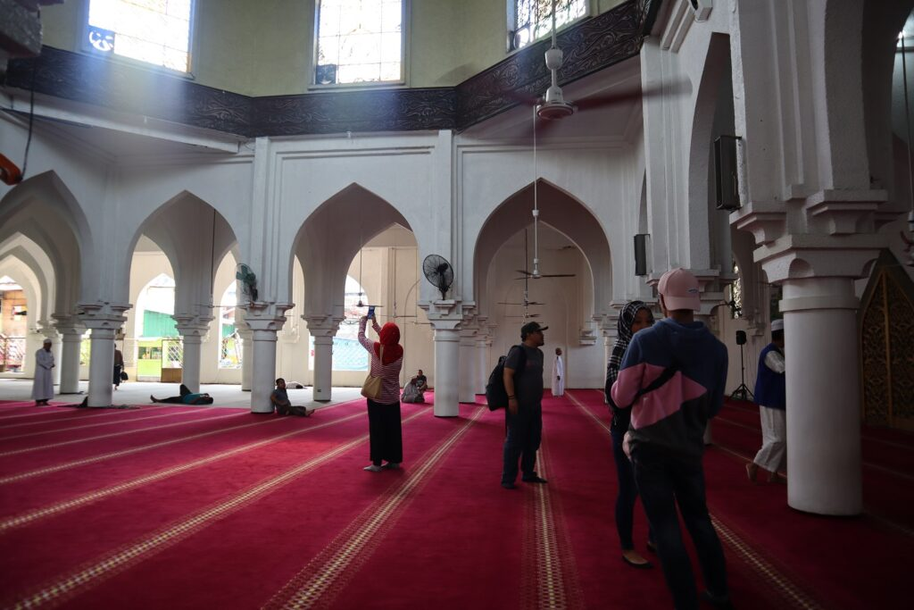 inside golden mosque